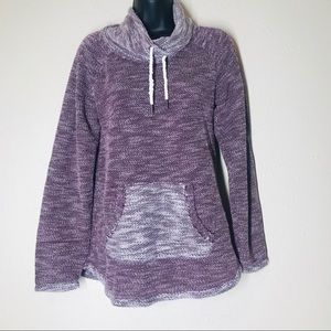 Kensie Performance cowl neck sweater S